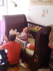Pottery Barn Kids Larkin Sleigh Crib Mamalaide